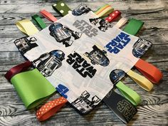 Your place to buy and sell all things handmade Baby Sensory Toys, Star Wars Kids, Baby Safe, Minky Fabric, Baby Play, Ribbon Colors, Crinkles, Green And Orange, Etsy Store