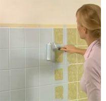 DIY, Bathroom Update ~ Weekend Bathroom Makeover. Paint Over Those Ghastly  Tiles. Proper Part 60
