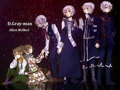 D. gray man Allen Walker
