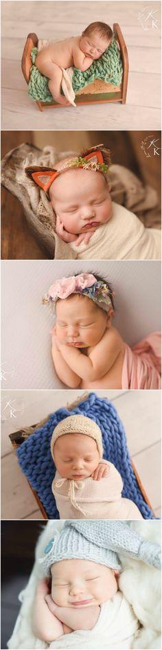 Kelly Kristine Photography | newborn photography, baby girl baby boy