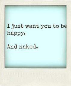 I just want ...