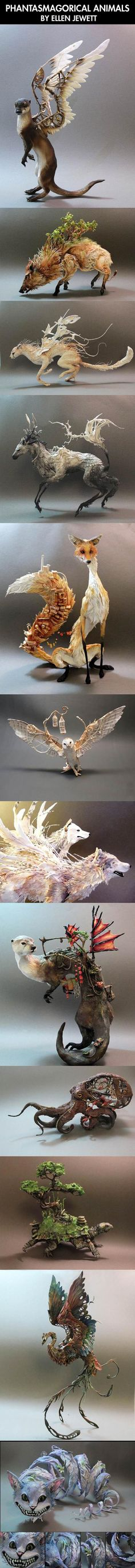 Amazing animal sculpture art…No idea what this is, but it looks really cool!