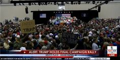 MILE LONG LINE to See Trump at Final Monday Rally in Grand Rapids, Michigan – LIVE STREAM VIDEO  Jim Hoft Nov 7th, 2016