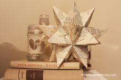 3D paper star tutorial