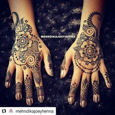 #follow@hennafamily #hennafamily #Repost @mehndikajoeyhenna  My hands have been naked for weeks. I think I have been moving away from floral recently because I wore it often over the summer... but I am drawn to this type of design that's a bit different yet similar. I think it's decided! This is what I will do. But when!? Tonight? Or when I arrive in Morocco! That's the question! #henna #mehndi