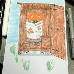 Inktober day 18. Filthy #inktober2017 #zensations #inktober #drawing #artwork #instaart #illustration #ink #sketching #sketchdrawing #hellowinci