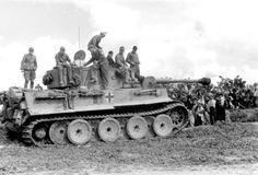 Afrika Korps Tiger I number 732 of Schwere Panzer Abteilung 501