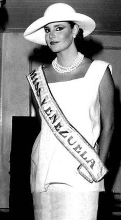 Carmen Maria Montiel. Miss Venezuela 1984..