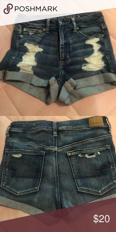 American eagle shorts Never been worn American Eagle Outfitters Shorts Jean Shorts American Eagle Dress, American Eagle Outfits, American Eagle Sweater, American Eagle Outfitters Shorts, Ladies Dress Design, Fashion Tips, Fashion Design, Fashion Trends, Winter Outfits