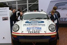 The first all-wheel drive 911, winner of the 1984 Paris-Dakar Rally at Pebble Beach 2012