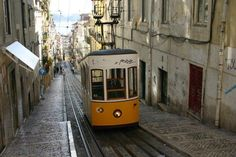 One of Lisbon's iconic funiculars #lisbon #travel #portugal