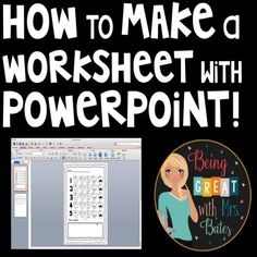 Powerpoint Tutorial, Powerpoint Tips, Microsoft Powerpoint, Microsoft Office, Teaching Tools, Teaching Resources, Computer Basics, Computer Tips, Primary Education