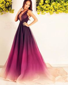 Ana Radu Ombre Dress ⭐️
