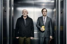 "Jonathan Banks and Bob Odenkirk in ""Better Call Saul"""