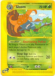 Pokemon Aquapolis - Gloom $4.50-$6.00