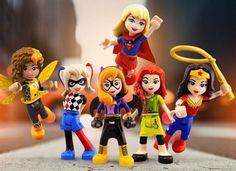 November 4 2016: LEGO Announces New DC Super Hero Girls Line