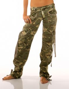 low waist camo cargo pants tall | ... latest styles & trends in women's pants and bottoms for this season