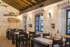 Konoba-type tavern typical for Dalmatia and Croatian Adriatic islands