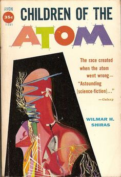 Children of the Atom, art by Richard M. Powers, book cover