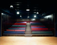 Sparkenhoe School Theatre Leicester by Ash Sakula Architects