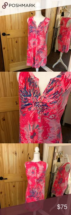 Lilly Pulitzer Essie Dress New with tags Lilly Pulitzer Essie Dress in the print Never Been Betta. Smoke free home. Any offer 50% or less than the list price will be automatically declined Lilly Pulitzer Dresses