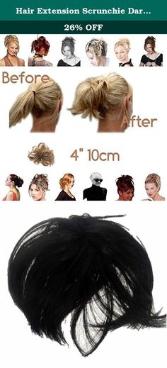 Hair Extension Scrunchie Darkest Brown Col 2 Bun Up Do Down Do Spiky Twister . LETS DO THE TWIST! A simple, little, luxurious spiky, scrunchie, twist, on elastic. You can vary the shape. Anyone can manage. Wear as an up do or down do. Wear two. Wear two shades. Make your hair into Art. Never have a bad hair day again.Twister is a fabulous product create an updo or large bun in seconds Wear two for an even higher punky art look or Wear as an up do twisted round a high pony. Or a down do...
