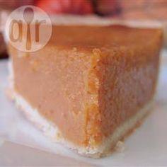 Rezeptbild: Amerikanischer Kürbiskuchen (Pumpkin Pie)