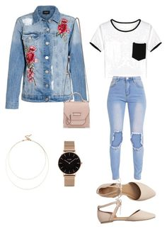 Casual Outfit by jenimarrivera on Polyvore featuring polyvore, fashion, style, WithChic, Gap, Mackage, CLUSE, Sole Society and clothing