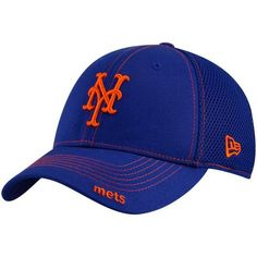 New Era New York Mets Royal Blue Neo 39THIRTY Stretch Fit Hat 7e3d60d49fc9