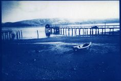 Also, could print high contrast photos negatives onto transparencies & create Cyanotypes that way.  Just thinking of a way to get vintage looking beach photos for our bedroom.  Too many possibilities!