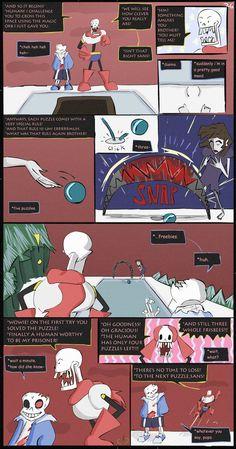 Horrortale Comic 26- The First Puzzle Again by Sour-Apple-Studios.deviantart.com on @DeviantArt