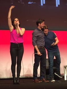 The #OUAT Squad closing ceremony of the #FairyTales4 - 19th June 2016 - Colin, Lana and Sean