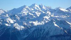 panoramic view from Plaine Morte Crans Montana, Valais, Sw. Wallis, Switzerland, Montana, Mount Everest, Music Videos, Europe, Tours, Places, Travel