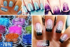 #nagel #glitter #12 #kleuren