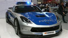 chevrolet corvette polizei - Cerca con Google
