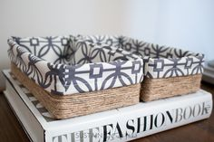 Looking for some DIY storage ideas?Upcycling your empty tissue boxes into  beautiful decorative storage boxes is pretty easy using these simple steps.  You won't believe the transformation!
