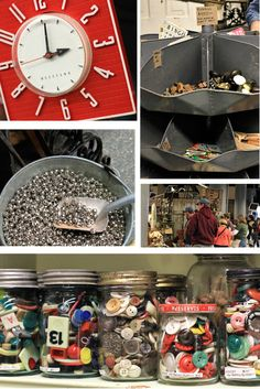 Junk bonanza huge vintage market (more pictures on September 2011 page of blog)