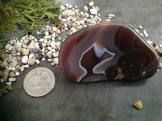 Lake Superior AGATE paperweight healing stone by fandancerdesigns, $25.00
