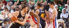 Pistons Jazz deplasmanından galip döndü