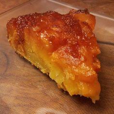 Gâteau renversé au yaourt et à l'ananas