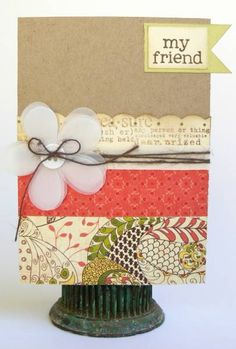 cute friend card