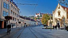,,Župné námestie,, in Bratislava
