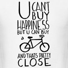 My bike is my friend.