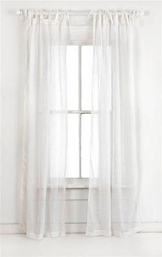 pch savannah linen white gauze curtains