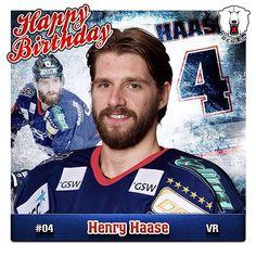 Am heutigen Mittwoch begeht unsere Nummer 4, Henry Haase, seinen 21. Geburtstag. Wir gratulieren hierzu recht herzlich und wünschen auf diesem Wege alles Gute und für die kommende Saison nur das Beste. Happy Birthday, Henry. #bestwishes #happybirthday #21 #henry #haase #verteidiger #defender #eisbaeren #berlin #del #hockey #2014 #june #25 #germany #german