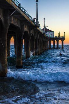 manhattan beach   Tumblr