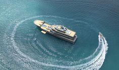 50m Superyacht Project REACH on Behance