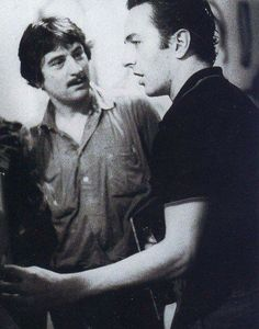 Joe Strummer and Robert Deniro