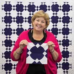 Check out Jenny's new tutorial on the Sweet Blend Quilt!