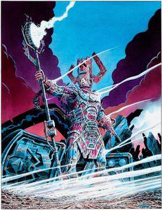The Marvel Comics of the 1980s — Galactus by Giorgio Comolo